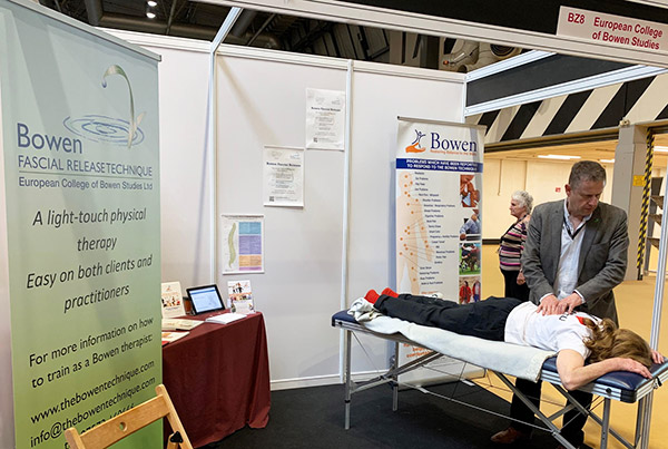 Bowen Therapy at Holistic Health Show